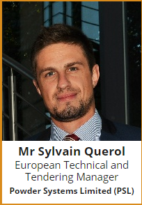 Sylvain Querol, European Technical and Tendering Manger